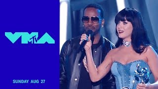 Katy Perry Wins 2014 Best Female Video for 'Darkhorse' ft. Juicy J | 2017 Video Music Awards | MTV Video