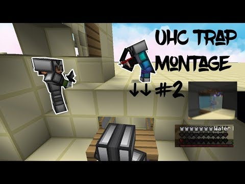 Hypixel & MMC UHC TRAPPING MONTAGE #2