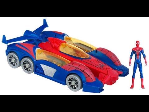 Spiderman voitures de course jouets pour enfants jouets spiderman youtube - Spiderman voiture ...