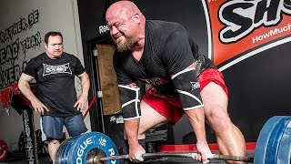 Team Super Training Deadlifts with Ed Coan