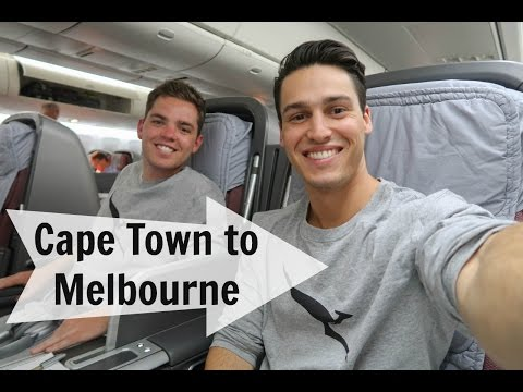 Journey From Cape Town To Melbourne | South Africa - VLOG #16