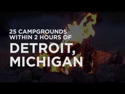 25 Campgrounds Within 2 Hours of Detroit, MI
