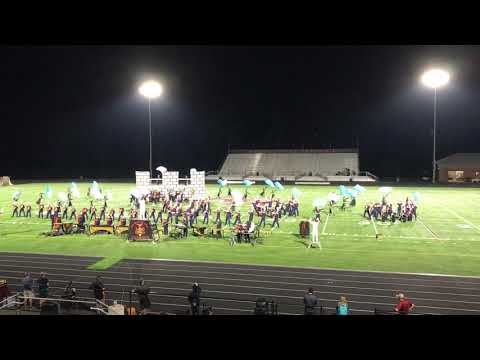 Briar Woods HS Marching Band - Rock Ridge Competition - Sept 29, 2018