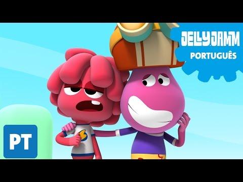 Jelly Jamm Português. EP 25 Aurora Musical. Desenhos animados completos