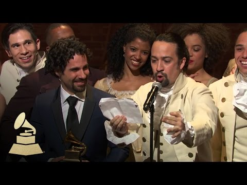 Hamilton | Best Musical Theater Album | 58th GRAMMYs