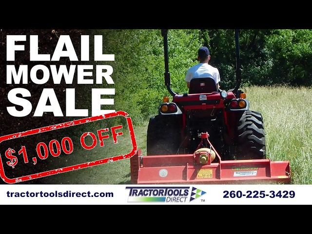 FLAIL MOWER SALE ($1000 OFF)