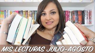 Wrap Up (español) julio - agosto 2015 | Libros del mes