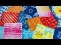 DIY Tie Dye with 16 Creative Ideas | 16 Different तरीके से कपड़े को टाई और डाई करे | बाँधनी