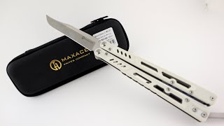Maxace Banshee Balisong Unboxing & Review