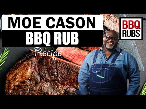 Moe Cason BBQ Rub Recipe
