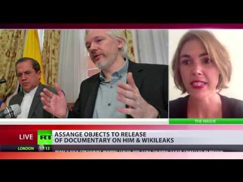 Assange objects to new Wikileaks documentary