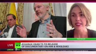 Assange objects to new Wikileaks documentary