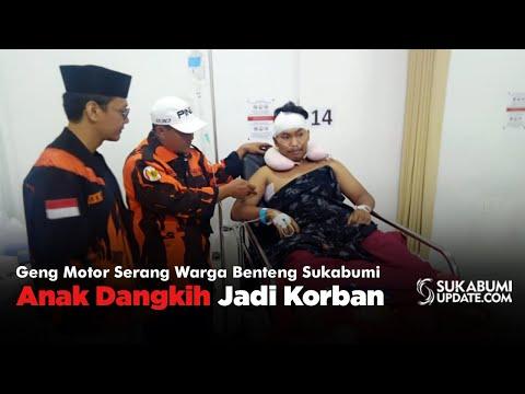 Geng Motor Serang Warga Benteng Sukabumi, Anak Dangkih Jadi Korban