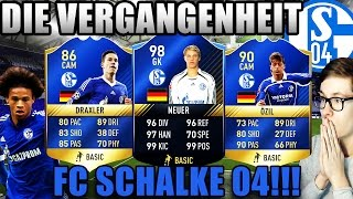 FIFA 17: DIE VERGANGENHEIT - FC SCHALKE 04 🔥⛔️ (DEUTSCH) - ULTIMATE TEAM - NEUER TOTY, ÖZIL & CO!