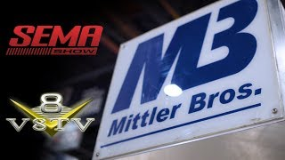 New Lazze Bead Rolls,  Handheld Shrinker Stretcher, 2 Foot Brake from Mittler Brothers at SEMA 2018