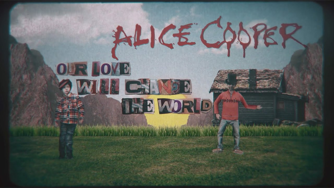 """Alice Cooper: Assista ao Lyric Video para """"Our Love Will Change The World"""""""