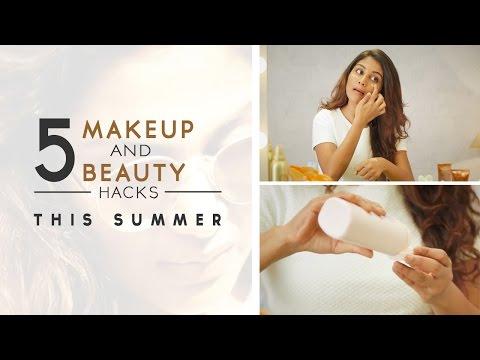 5 Summer Makeup And Beauty Tips | DIY Beauty