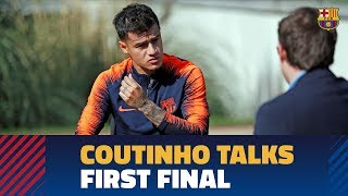 SEVILLA - BARÇA | COUTINHO: 'I came here to play these type of matches'