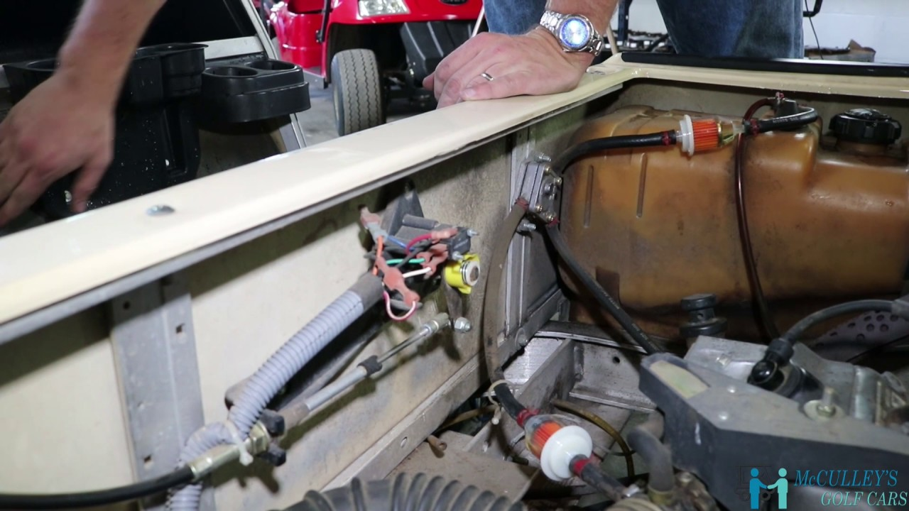 Ezgo Golf Cart Wiring Diagram Bmw Mini Stereo Pro Tip - Putting A Club Car Ds (gas) Into Maintenance Mode Youtube