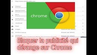 Comment bloquer la publicité qui vous dérange avec Google Chrome