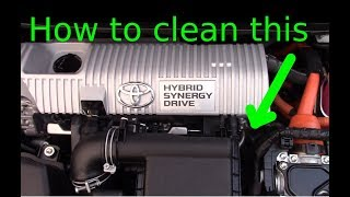 EGR Pipe Cleaning On 2010 2015 Toyota Prius
