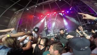 """Stick To Your Guns """"Nothing You Can to Do Me"""" live @ Resurrection Fest 2016 (pit vision)"""