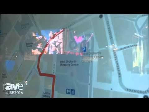 ISE 2016: dimedis Features kompas Digital Signage Software