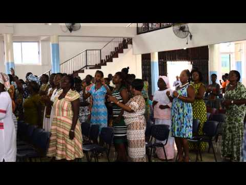 David Reed: Pentecost Sunday, Grace Presbyterian Church, Akropong, Ghana, 2014--Singing and Dancing