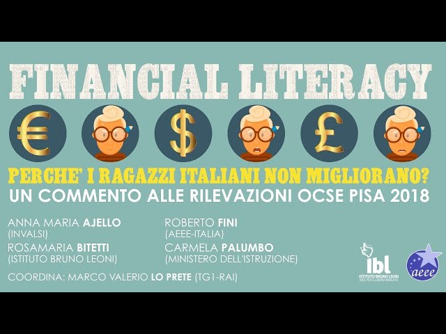 Financial Literacy, perchè i ragazzi italiani non migliorano?