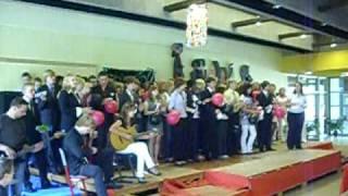 Abschluss '09 unser Abschlusslied/ Nena - 99 Luftballons feat. 10er Jahrgang Realschule Damme
