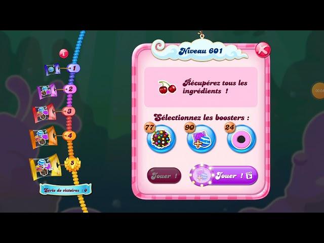 Candy Crush Saga level 601