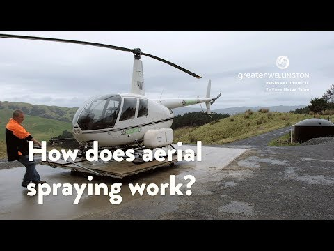 Aerial Spraying - How does aerial spraying work?