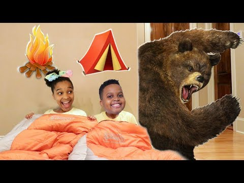 Shiloh and Shasha EPIC CAMPING TRIP!  yx Kids