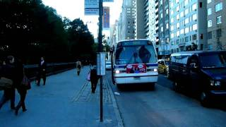 Exclusive! NovaBus RTS #8881 Harlem Bound M7 Bus at 59th Street/8th Avenue