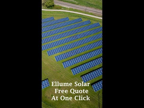 Ellume Solar free quote at one click