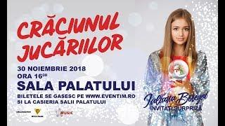 """Cel mai mare spectacol IULIANA BEREGOI - 30 Noiembrie SALA PALATULUI: """"Craciunul Jucariilor"""""""