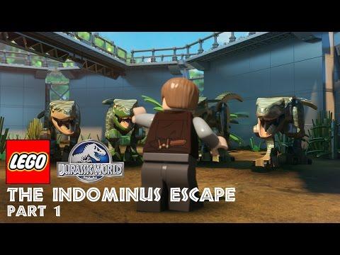 Part 1: LEGO®Jurassic World: The Indominus Escape