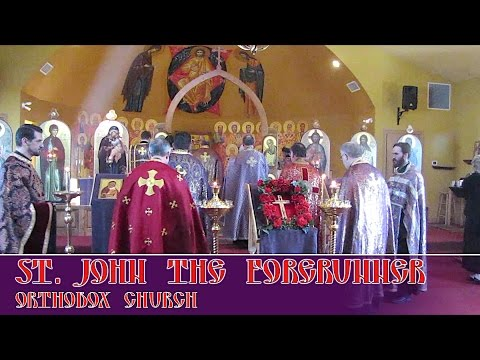 Pan-Orthodox Vespers at St. John the Forerunner. Indianapolis, IN on 19 Mar, 2017