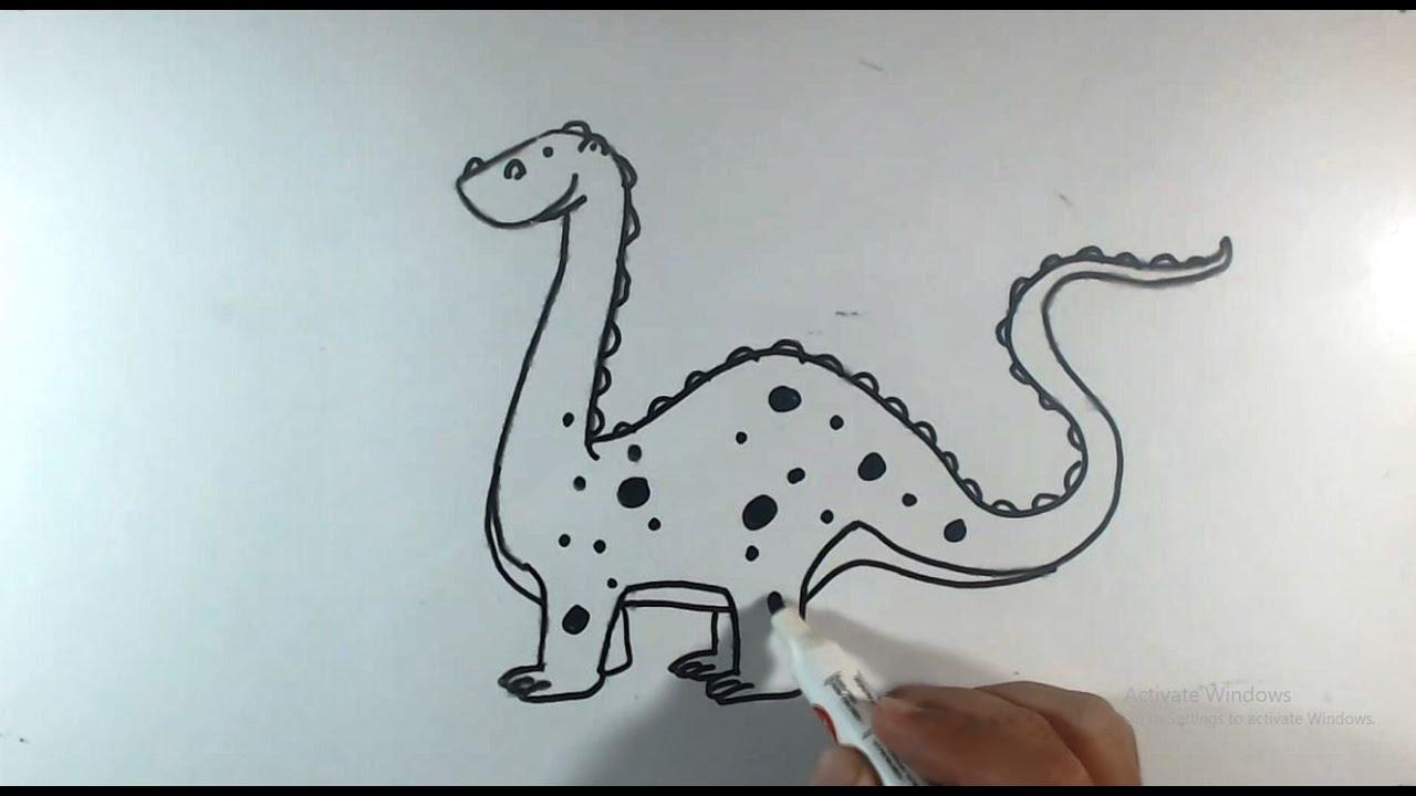 Cara Menggambar Harimau How To Draw A Tiger Youtube
