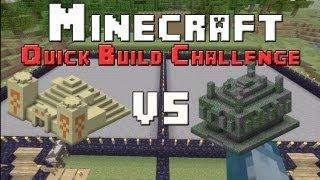 Minecraft Xbox - Quick Build Challenge - Temple