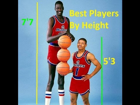 Best NBA Players Ever By Height Pt.1 (5'3-6'6)