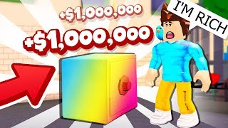 Cracking A 1,000,000 Dollar Safe à Roblox And Getting Rich!