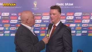 Van Gaal over WK-loting | WK-Voetbal 2014