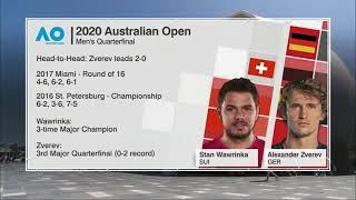 Hd Alexander Zverev Vs Stan Wawrinka - Extended Highlights Qf   Australian Open 2020