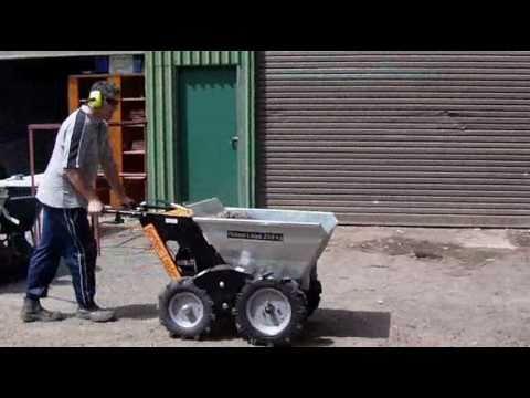 New 4wd garden loader dumper powered wheelbarrow barrow for Motorized wheelbarrows for sale