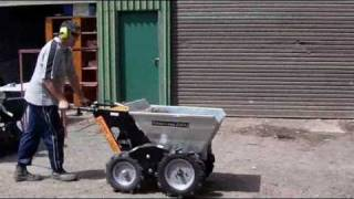 New 4wd Garden Loader Dumper Powered Wheelbarrow Barrow
