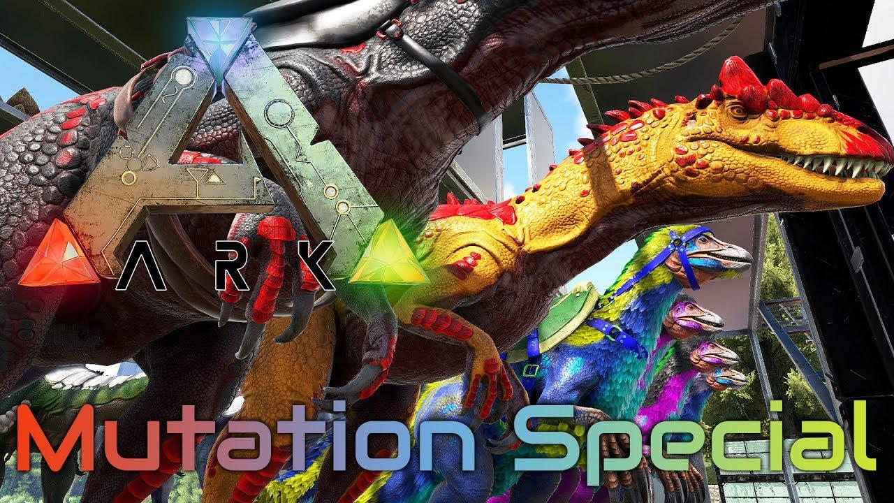 fead99acafcd ARK  SURVIVAL EVOLVED ☆ Mutation Special ☆ Tipps zum MUTATIONEN züchten -  Tutorial   Guide