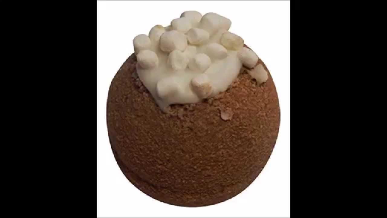 Hot Cocoa Scented Bath Bomb Youtube