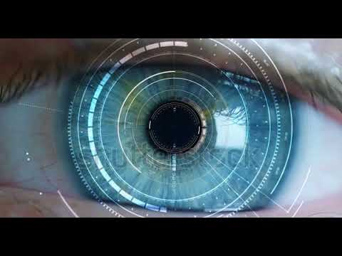 Macro Eye 6k Resolution Futuristic Graphical Implementation  Human Being Futuristic Vision, Vision A
