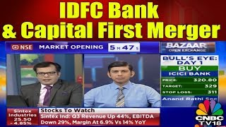 Udayan Mukherjee Talks about IDFC Bank & Capital First Merger || CNBC TV18